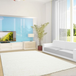 Shaggy Teppich LIFE 1500 CREAM 200 x 290 cm
