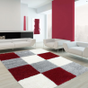 Tapis Shaggy LIFE 1501 ROUGE 160 x 230 cm