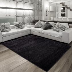 Moderner Teppich RIVA 3200 SCHWARZ 160 x 230 cm