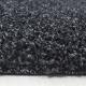 Shaggy Deluxe Teppich Teppich DREAM SHAGGY 4000 ANTHRAZIT 80 x 80 cm Rund