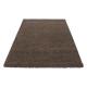Shaggy Deluxe Teppich Teppich DREAM SHAGGY 4000 BRAUN 120 X 170 cm