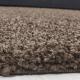 Shaggy Deluxe Teppich Teppich DREAM SHAGGY 4000 BRAUN 80 x 80 cm Rund