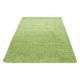Shaggy Deluxe Teppich Teppich DREAM SHAGGY 4000 GRÜN 80 X 150 cm Teppichläufer