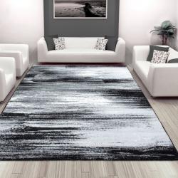 Moderner Multicolor Teppich SAMBA 1703 SCHWARZ 60 X 100 cm