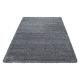 Shaggy Deluxe Teppich Teppich DREAM SHAGGY 4000 GRAU 65 x 130 cm