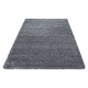 Shaggy Deluxe Teppich Teppich DREAM SHAGGY 4000 GRAU 200 x 290 cm