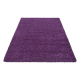 Shaggy Deluxe Teppich Teppich DREAM SHAGGY 4000 LILA 65 x 130 cm