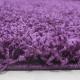 Shaggy Deluxe Teppich Teppich DREAM SHAGGY 4000 LILA 80 x 80 cm Rund