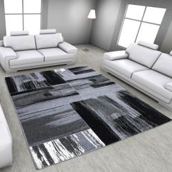Moderner Teppich LIMA 1350 GRAU 160 x 230 cm