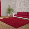 Shaggy Deluxe Teppich Teppich DREAM SHAGGY 4000 ROT 65 x 130 cm
