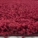 Shaggy Deluxe Teppich Teppich DREAM SHAGGY 4000 ROT 80 X 150 cm Teppichläufer