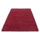 Shaggy Deluxe Teppich Teppich DREAM SHAGGY 4000 ROT 200 x 290 cm
