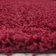 Shaggy Deluxe Teppich Teppich DREAM SHAGGY 4000 ROT 120 X 120 cm Rund