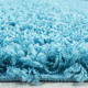 Tapis Shaggy Deluxe Tapis DREAM SHAGGY 4000 TURQUOISE 200 x 290 cm