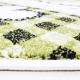 Kinder Teppich HAPPY 1801 GRÜN 120 X 170 cm