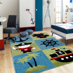 Tapis Enfant HAPPY 1803 MULTI 120 X 170 cm
