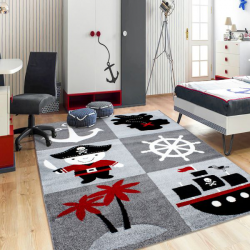 Tapis Enfant HAPPY 1803 MULTI 80 X 150 cm Coureur