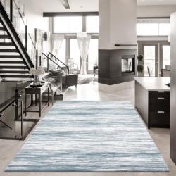 Hochwertiger 3D Teppich SULTANA 2300 BLAU 160 x 230 cm
