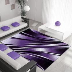 Moderner Teppich PARMA 9210 LILA 160 x 230 cm