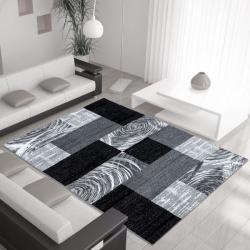 Moderner Teppich PARMA 9220 SCHWARZ 160 x 230 cm