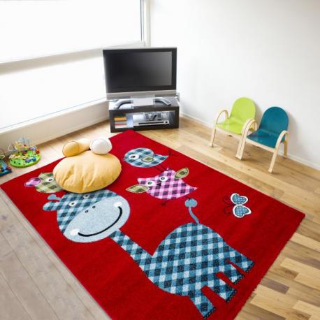 Kinder Teppich HAPPY 1806 ROT 200 x 290 cm
