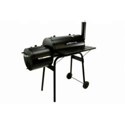 BBQ Grill Smoker Grillwagen Holzkohlegrill 2 Kammern Barbeceue