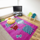Kinder Teppich HAPPY 1806 PINK 120 X 170 cm