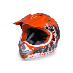 X-treme Kinder Cross Helm Design 2016 - Orange