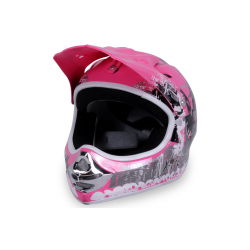 X-treme Kinder Cross Helm Design 2016 - Pink