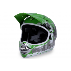 X-treme Kinder Cross Helm Design 2016 - GRÜN