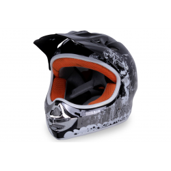 X-treme Kinder Cross Helm Design 2016 - SCHWARZ
