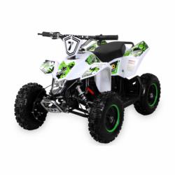 Kinderquad Elektro Miniquad Fox XTR 1000 Watt Quad ATV 48V Weißer Body