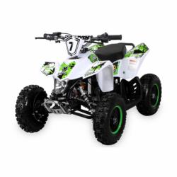 Kinder Miniquad Fox XTR PREMIUM Weißer Body 49cc E-Start - Tuning Engine