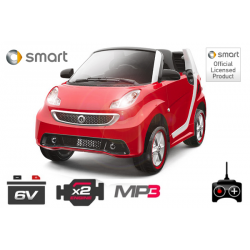 Lizenz Elektro Kinderauto Smart For Two | 2x30W | 6V