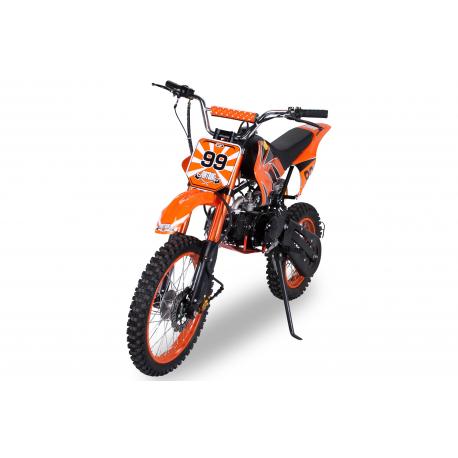 Kinder Jugend Cross Dirtbike Enduro 125cc 17/14 Zoll