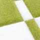 Moderner 3D Teppich HAWAII 1310 GRÜN 80 X 150 cm Teppichläufer