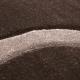 Tapis Modern 3D HAWAII 1320 MARRON 80 X 150 cm Coureur
