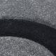 Moderner 3D Teppich HAWAII 1320 GRAU 80 X 150 cm Teppichläufer