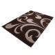 Moderner 3D Teppich HAWAII 1320 GRAU 80 X 300 cm Teppichläufer