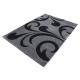 Tapis Modern 3D HAWAII 1320 GRIS 120 X 170 cm