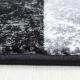 Tapis Modern 3D HAWAII 1330 NOIR 80 X 150 cm Coureur