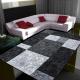 Moderner 3D Teppich HAWAII 1330 SCHWARZ 80 X 300 cm Teppichläufer