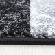 Moderner 3D Teppich HAWAII 1330 SCHWARZ 160 x 230 cm