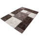Tapis Modern 3D HAWAII 1330 MARRON 80 X 300 cm Coureur