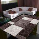 Moderner 3D Teppich HAWAII 1330 BRAUN 120 X 170 cm